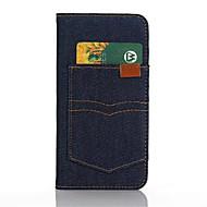 용 Samsung Galaxy S7 Edge 카드 홀더 / 지갑 / 스탠드 / 플립 케이스 풀 바디 케이스 단색 인조 가죽 Samsung S7 edge / S7