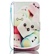 Για Samsung Galaxy S7 Edge Πορτοφόλι / Θήκη καρτών / με βάση στήριξης / Ανοιγόμενη tok Πλήρης κάλυψη tok Κινούμενα σχέδια Συνθετικό δέρμα