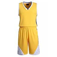 Hauts/Tops / Bas / Shirt ( Jaune / Blanc / Bleu Foncé ) - Fitness / Basket-ball - Sans manche - Homme