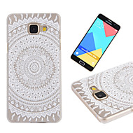 For Samsung Galaxy etui Transparent Mønster Etui Bagcover Etui blondedesign PC for Samsung A7(2016) A5(2016) A3(2016)