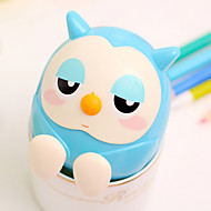 Owl Shaped Plastic Holder for iPhone and Samsung(1 PCS Random Color)