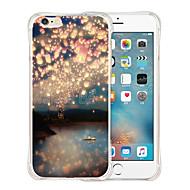For Etui iPhone 6 / Etui iPhone 6 Plus Mønster Etui Bakdeksel Etui Landskap Myk Silikon iPhone 6s Plus/6 Plus / iPhone 6s/6