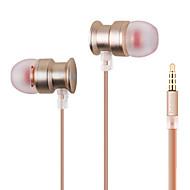 3.5mm kontakt trådbundna hörlurar (i örat) för mediaspelare / tablett | mobiltelefon | dator