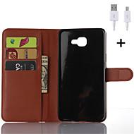 PU δερμάτινη θήκη άλλη πορτοφόλι με καλώδιο USB για Samsung Galaxy Α3 / Α5 / A7 / A8 / A9
