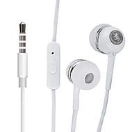 harber s-20 dans l'oreille casque haute performance avec télécommande et micro pour les lecteurs mp3, xiaomi et ipods