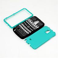 Mert Samsung Galaxy Note Ütésálló / Minta Case Hátlap Case Vonalak / hullámok PC Samsung Note 4
