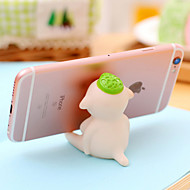 Lovely Monster Design Rubber Holder for iPhone and Samsung(1 PCS)