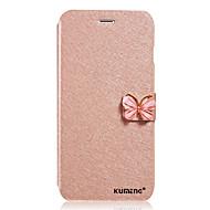 Mert Samsung Galaxy tok Kártyatartó / Pénztárca / Flip Case Teljes védelem Case Csillámpor Műbőr Samsung J7 / J5 / J1