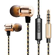 휴대 전화 | | 컴퓨터 미디어 플레이어 / 태블릿 (귀) 3.5mm의 커넥터 유선 이어폰