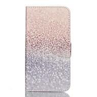 Voor Samsung Galaxy S7 Edge Portemonnee / Kaarthouder / met standaard / Flip hoesje Volledige behuizing hoesje Kleurgradatie PU-leer