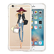Queen's Favorites Soft Transparent Silicone Back Case for iPhone 6s 6 Plus