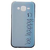 Mert Samsung Galaxy tok Minta Case Hátlap Case Szó / bölcselet TPU Samsung J5 / J1 / Grand Prime / Core Prime