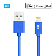 Original MFi Certified 8 pin Colour Mobile Phone USB Cable(charge+sync) for iPhone 7 6s 6 Plus SE 5s 5c 5