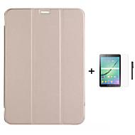 PU nahka kirja stand kotelo Samsung Galaxy Tab s 8,4 / tab s 10.5 / tab 8,0 / tab 9,7 + kynää + elokuva