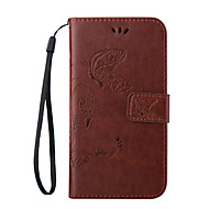embossing pu leather sling klepje portemonnee tas geval voor Galaxy a3 (2016) / galaxy a5 (2016) / galaxy a7 (2016)