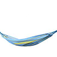 koraman outdoor enkele hangmat lichtgewicht ademend Oxford doek met touw en tas