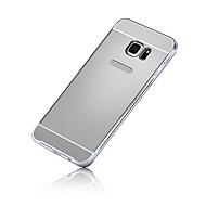 Mert Samsung Galaxy S7 Edge Galvanizálás Case Hátlap Case Egyszínű PC Samsung S7 edge / S7 / S6 edge plus / S6 edge / S6 / S5 / S4 / S3
