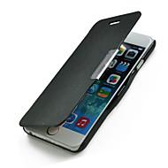 Na Etui iPhone 6 / Etui iPhone 6 Plus Flip Kılıf Futerał Kılıf Jeden kolor Twarde Skóra PU iPhone 6s Plus/6 Plus / iPhone 6s/6