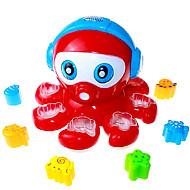 byggeklosser plast for barna hele puslespillet leketøy