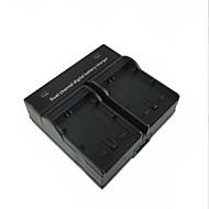 sony A5000 a5100 a7r nex6 7 5tl 5r 5n 3NL c3 için FW50 dijital fotoğraf makinesi pili çift şarj cihazı