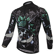 XINTOWN Cycling Tops / Jerseys Men's Bike Breathable / Ultraviolet Resistant / Quick Dry / Limits Bacteria Long Sleeve StretchyElastane /