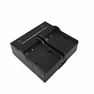キヤノンEOS Kissデジタル10dと20dと30dと40dと50dとのEOS 5D用bp511デジタルカメラのバッテリーデュアル充電器