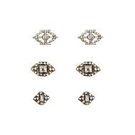 Sieraden Set Luxe Sieraden imitatie Diamond Goud Zilver Sieraden Voor