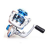 Mini Metal  Fishing Spinning Reel 10 Ball Bearings  Exchangable Handle-FF150