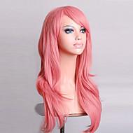 cosplay peruka sentetik Tkany maszynowo Peruki Medium Różowy Włosy