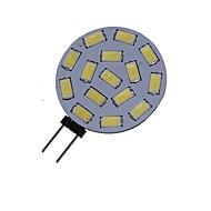 7W G4 Lâmpadas de Foco de LED MR11 15 SMD 5730 550-650 lm Branco Quente / Branco Frio Decorativa DC 12 / AC 12 / AC 24 / DC 24 V 1 pç