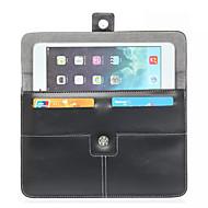 pu læder etui taske cover til fanen tablet pc galaxy 3 8.0 / e 8.0 / s 8.4 / pro 8,4 / s2 8,0 / et 8,0 / 4 8.0 med kort slot