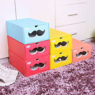 Paper Candy-colored Shoes Storage Box
