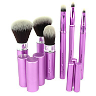 6 Brush Lavastus Synteettinen tukka Matkailu / synteettinen / Rajoittaa bakteereja / Kannettava Metalli Kasvot / Silmä / Huuli Muut