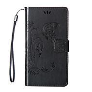 Mert Nokia tok Pénztárca / Kártyatartó / Állvánnyal / Dombornyomott Case Teljes védelem Case Pillangó Kemény Műbőr NokiaNokia Lumia 950 /