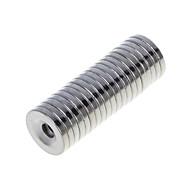 Magneettilelut 20 Pieces 15*3 MM Magneettilelut Rakennuspalikat Super Strong harvinaisten maametallien Magneetit Executive lelutPuzzle