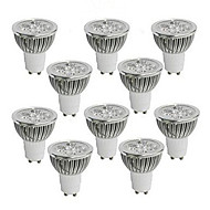 10 Stück MORSEN Dimmbar LED Spot Lampen MR16 GU10 / GU5.3(MR16) 5W 350-400 LM K High Power LED Warmes Weiß / Kühles WeißAC 220-240 / AC