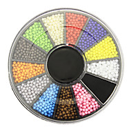 Manicure Candy Color Bead 1.5mm Jewelry Jewelry Beads