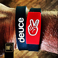 Sports Tide Owen Carey Brand with Deuce Brand Energy Basketball Wristband Bracelet Kyrie Irving