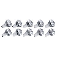 5W E14 / GU10 / GU5.3(MR16) / E26/E27 LED-spotlampen MR16 5 Krachtige LED 550 lm Warm wit / Koel wit Decoratief AC 85-265 V 10 stuks