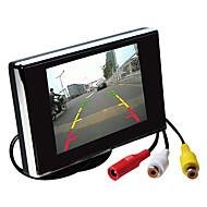 3,5 hüvelykes TFT-LCD monitor autó visszapillantó hd állvánnyal fordított biztonsági kamera kiváló minőségű
