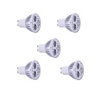 5PCS 9w GU10는 900lm 따뜻한 / 차가운 빛 램프 스포트 라이트를 주도 (85-265V)