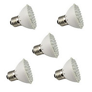 5pcs HRY® E27 3W 60LED 45Red+15Blue Grow Light Bulb Flowering Plant Hydroponic System Garden Lamp Promotion (220V)