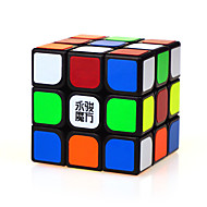 Yongjun® Smooth Speed Cube 3*3*3 Professional Level Magic Cube Black ABS