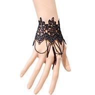 Brățări Ring Bracelets Dantelă Others Design Unic La modă Petrecere Zilnic Casual Bijuterii Cadou Negru,1 buc