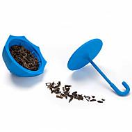 silikon paraply formet te infuser løs te blad filter sil (tilfeldig farge)