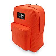 pofoko® 15,6 Zoll wasserdichten Laptoprucksack rosa / rot / orange