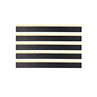 Landa Tianrui tm-DIY 40-pin 2.54mm kvindelige header - sort (5pcs)