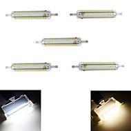 10W R7S LED Mais-Birnen T 152 SMD 4014 800 lm Warmes Weiß / Kühles Weiß Dekorativ / Wasserdicht AC 220-240 V 5 Stück