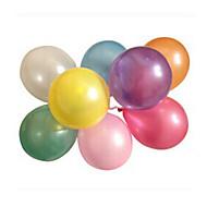 100pcs/lot의 라텍스 헬륨 Inflable 두껍게 진주 결혼식이나 생일 파티 풍선