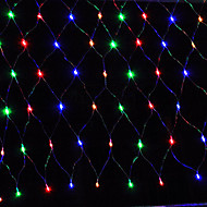 Led Net Light 1.5X1.5M 96Led Net Lights String Wedding Party Holiday Decoration Xmas Light Eu Plug Ac220V Or Ac110V
